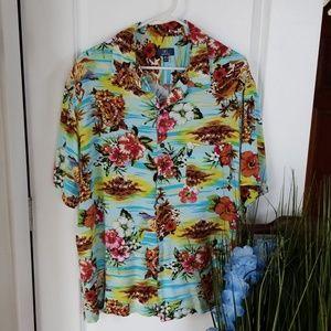 George Hawaiian Tiki Shirt